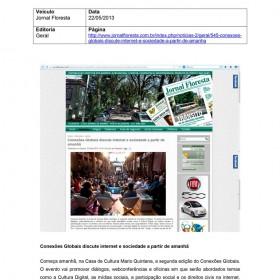 2013-04-09 - Conexões - Jornal Floresta