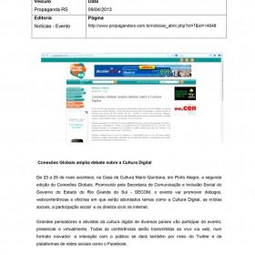 2013-04-09 - Conexões - Propaganda RS