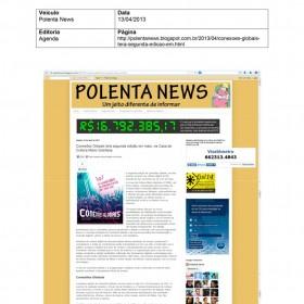 2013-04-13 - Conexões - Blog Polenta News
