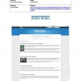 2013-04-15 - Conexões - Zero Hora (Edição Online - Contracapa)