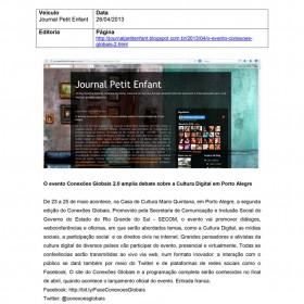 2013-04-26 - Conexões - Blog Journal Petit Enfant