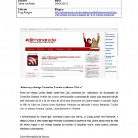 2013-04-26 - Conexões - Dilma na Rede