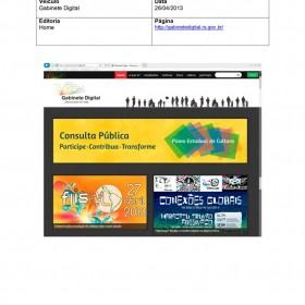 2013-04-26 - Conexões - Gabinete Digital (Home)