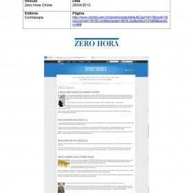 2013-04-26 - Conexões - Zero Hora (Edição Online - Contracapa)