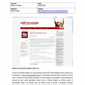 2013-05-03 - Conexões - Dilma na Rede
