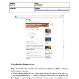 2013-05-04 - Conexões - JusClip