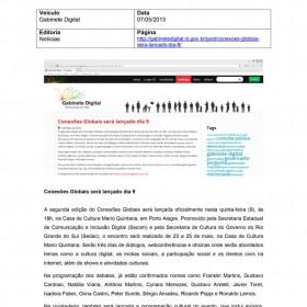 2013-05-07 - Conexões - Gabinete Digital