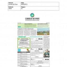 2013-05-09 - Conexões - Correio do Povo (Edição Impressa - Geral)