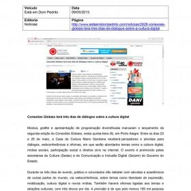 2013-05-09 - Conexões - Está em Dom Pedrito