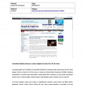 2013-05-09 - Conexões - Jornal do Comércio (Site)