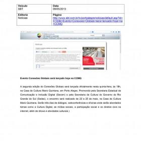 2013-05-09 - Conexões - SBT