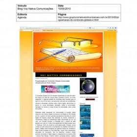 2013-05-10 - Conexões - Blog Voz Nativa Comunicações