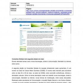 2013-05-10 - Conexões - Coletiva