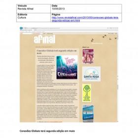 2013-05-10 - Conexões - Revista Afinal