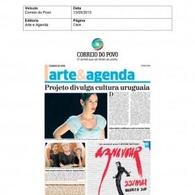 2013-05-13 - Conexões - Correio do Povo (Edição Impressa - Agenda)