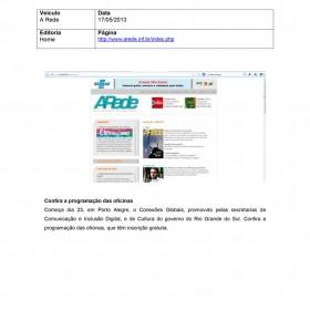 2013-05-17 - Conexões - A Rede (home)