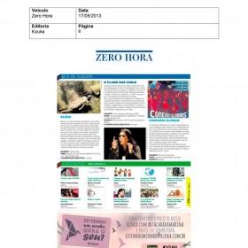 2013-05-17 - Conexões - Zero Hora (Edição Impressa - Kzuka)