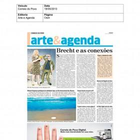 2013-05-18 - Conexões - Correio do Povo (Edição Impressa - Arte e Agenda - Citação)