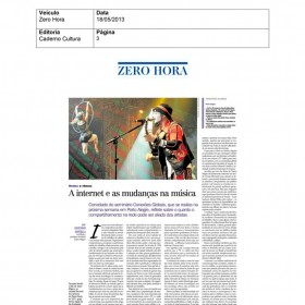 2013-05-18 - Conexões - Zero Hora (Edição Impressa - Caderno Cultura)