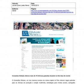 2013-05-19 - Conexões - Jornal da Zona Leste