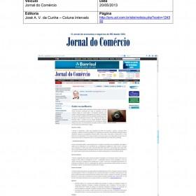 2013-05-20 - Conexões - Jornal do Comércio (Online - Coluna Invervalo)