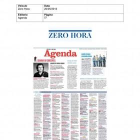 2013-05-20 - Conexões - Zero Hora (Edição Impressa - Agenda)