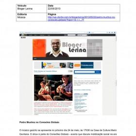 2013-05-22 - Conexões - Bloger Lerina