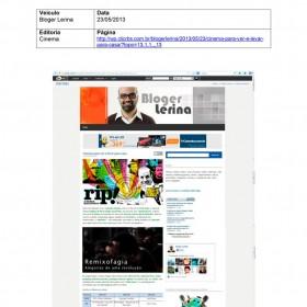 2013-05-23 - Conexões - Bloger Lerina