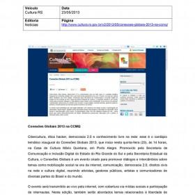 2013-05-23 - Conexões - Cultura RS