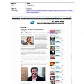 2013-05-23 - Conexões - EBC (tecnologia)
