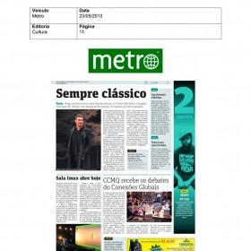 2013-05-23 - Conexões - Jornal Metro