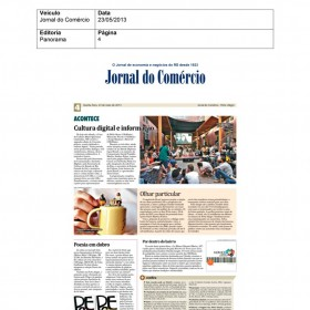 2013-05-23 - Conexões - Jornal do Comércio (Edição Impressa)