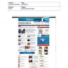 2013-05-23 - Conexões - Jornal do Comércio (Home)