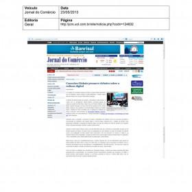 2013-05-23 - Conexões - Jornal do Comércio (Online - Geral)