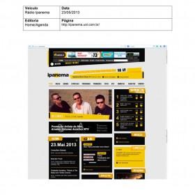 2013-05-23 - Conexões - Rádio Ipanema (Home)