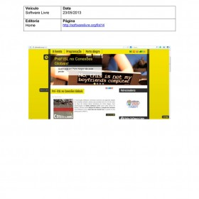 2013-05-23 - Conexões - Software Livre (Home)