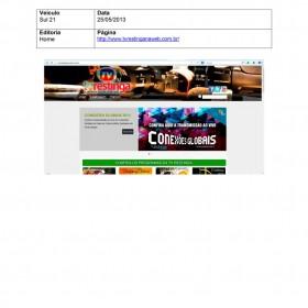 2013-05-23 - Conexões - TV Restinga na Web