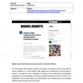 2013-05-24 - Conexões - Blog Gabriel Guidotti