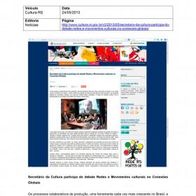 2013-05-24 - Conexões - Cultura RS I