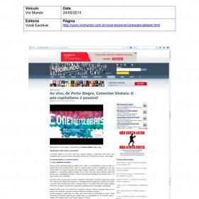 2013-05-24 - Conexões - Vio Mundo