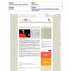 2013-05-25 - Conexões - Casa de Cultura Mario Quintana