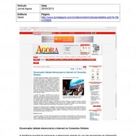 2013-05-26 - Conexões - Jornal Agora