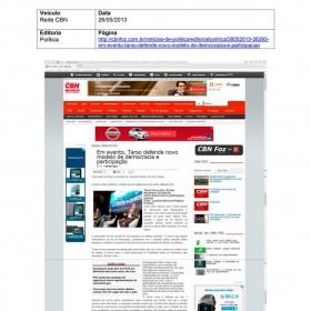 2013-05-26 - Conexões - Rede CBN
