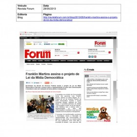 2013-05-28 - Conexões - Revista Forum