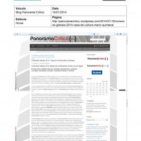 2014-01-16 - Blog Paronama Crítico