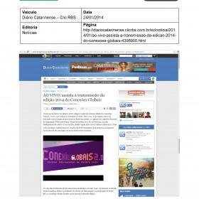 2014-01-24 - Diário Catarinense (Clic RBS - notícias) II