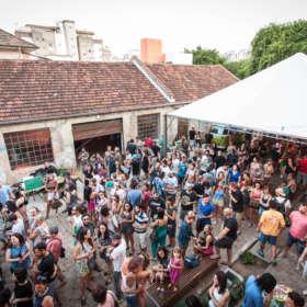 Festival #deslocamentos4D. Vila Flores. Porto Alegre. Dezembro de 2016.